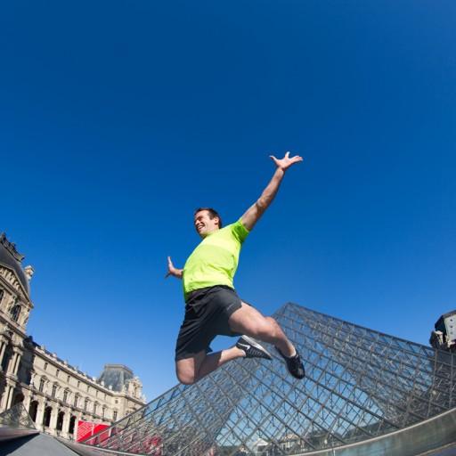 Alexis Coach Sportif Paris - Louvre - Saut